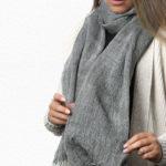 Alpaca Tweed Scarf