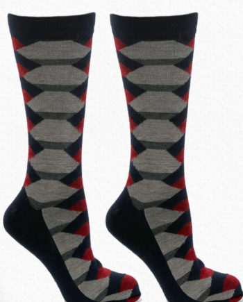 Alpaca-Men-Socks-Navy-Red