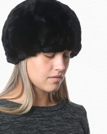 Alpaca Hat Black