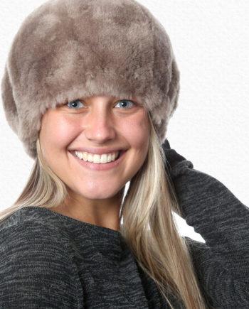 Alpaca Hat Taupe