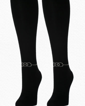 Alpaca socks women black