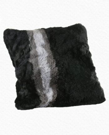Alpaca Black Pillow