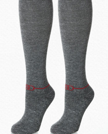alpaca charcoal socks