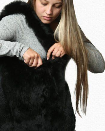 HuddleBlack - Alpaca Handbag