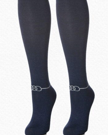 alpaca socks navy women