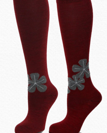 Alpaca Socks Red
