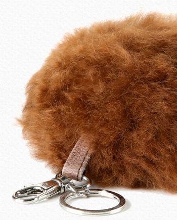 Alpaca Poof Keychain