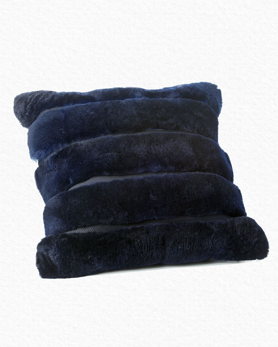 Alpaca Blue Pillow