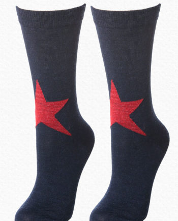 Alpaca Sock Navy