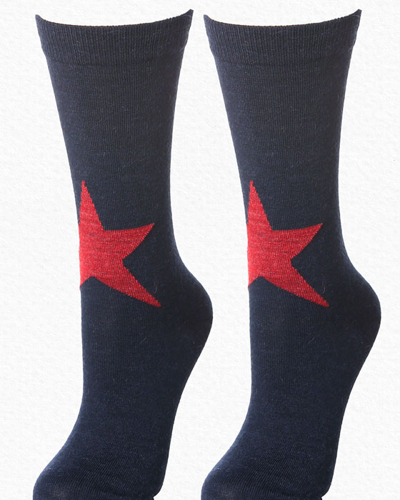 Alpaca Sock Navy
